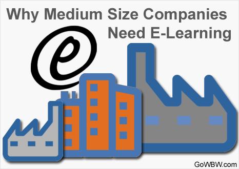 Why Medium Size Companies Need E-Learning