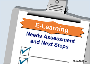 E-Learning Needs Assessment and Next Steps